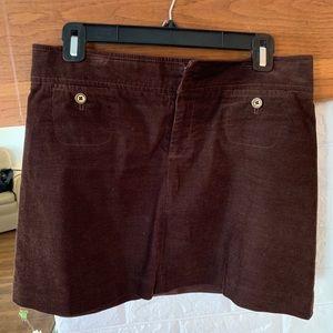 Lilly Pulitzer Fall Corduroy Mini Skirt